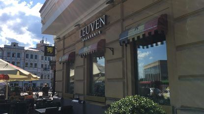 Duivelsfans komen samen in 'Leuvens café' in Kazan