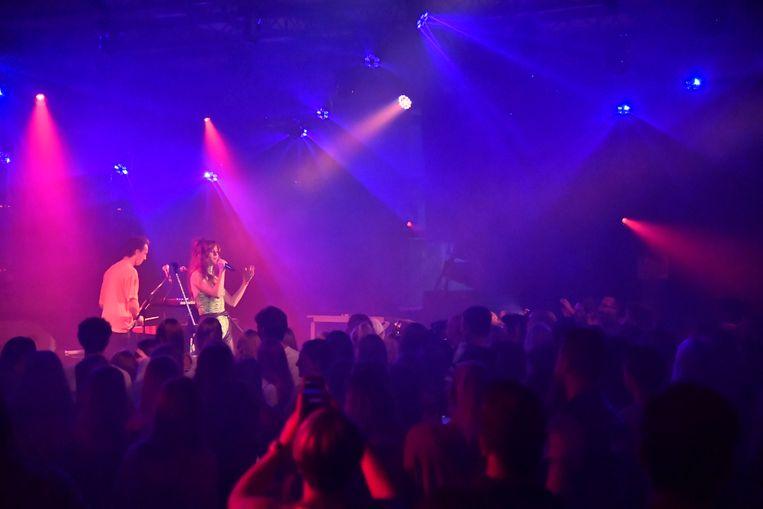De Red Bull Music Room van de Lokerse Feesten.