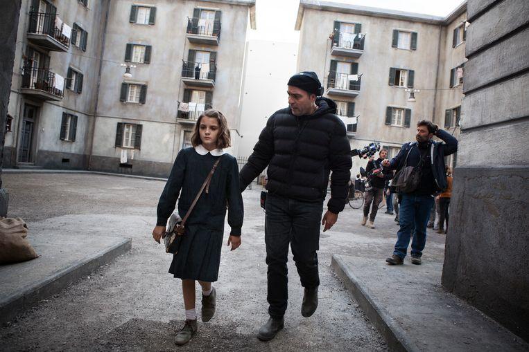 Elisa Del Genio en regisseur Saverio Costanzo Beeld null