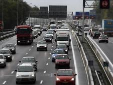 A4 richting Den Haag weer open na ongeluk