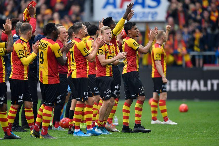 De spelers van KV Mechelen.