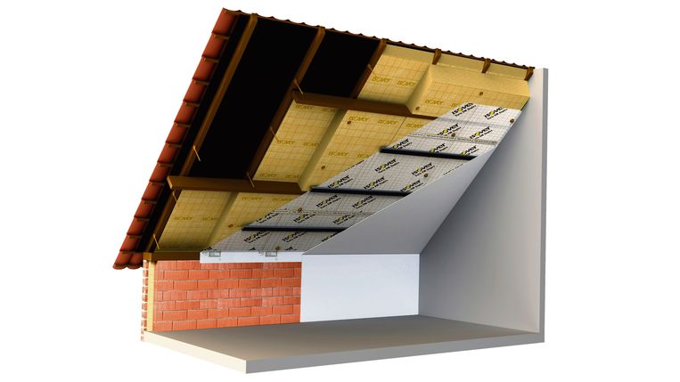 Het Perfect dak-systeem is makkelijk te plaatsen en biedt onmiddellijk comfort, niet alleen als warmte-isolatie maar ook tegen geluidshinder.