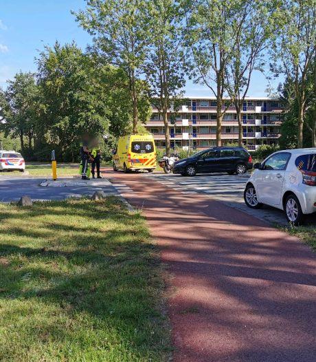 Fietsster aangereden op rotonde Wageningen