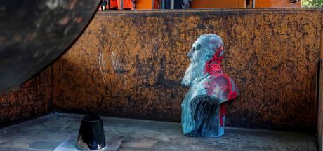 Un buste de Léopold II dégradé à Auderghem, une statue de Baudouin vandalisée à Bruxelles