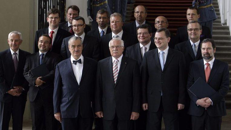 De nieuwe regering van Tsjechië