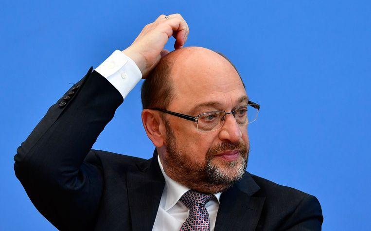 Martin Schulz Beeld AFP