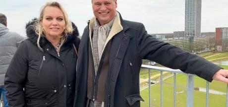 Kempentoren in Spoorpark Tilburg geopend: 'Het uitzicht is super, maar het blijft eng'