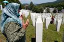 Zaterdag zijn negen slachtoffers van de genocide herbegraven in Potocari, vlakbij Srebrenica