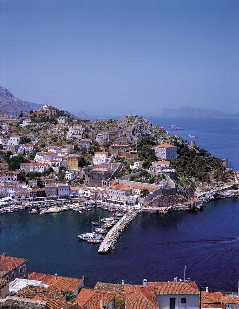 Het Griekse eiland Hydra. © BRUNOPRESS Beeld
