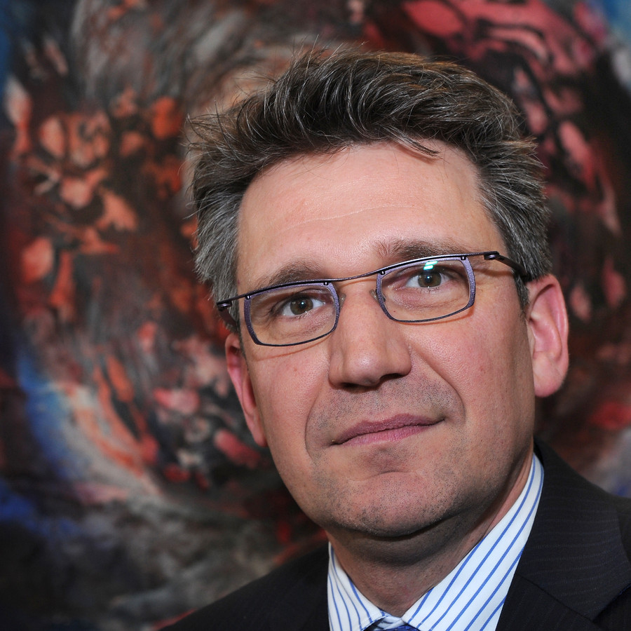 Burgemeester Wim Hillenaar van Cuijk.