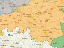 Code oranje voor bosbrandgevaar opgeschaald naar heel Brabant