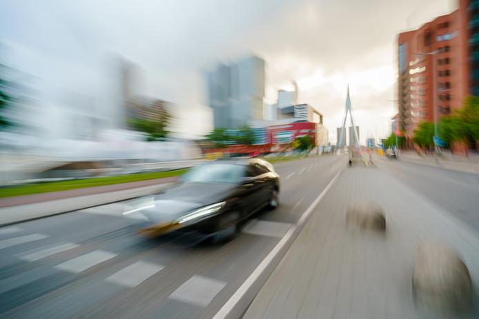 Er zijn tal van klachten over het Rotterdamse verkeer.