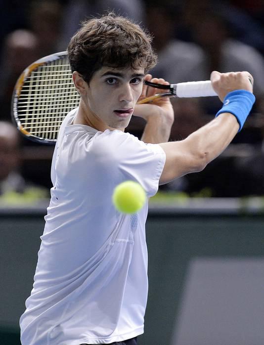 Sorti des qualifs, Pierre-Hugues Herbert (ATP 189) a joué crânement sa chance. Après la rencontre, il a fait signe au public en demandant de ne pas siffler son adversaire.