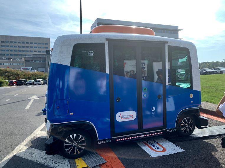 Zelfrijdende elektrische bus op de VUB