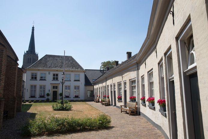 Het Gasthuishofje is één van de mooiste plekjes van Doesburg.