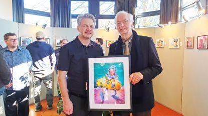 Cartoonist Erwin Vanmol zakt in elkaar tijdens eigen tentoonstelling