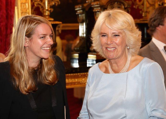 Camilla en haar dochter Laura.