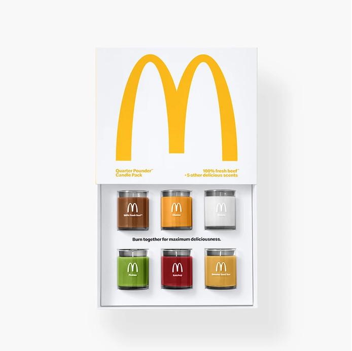 Kaarsen van McDonald's.