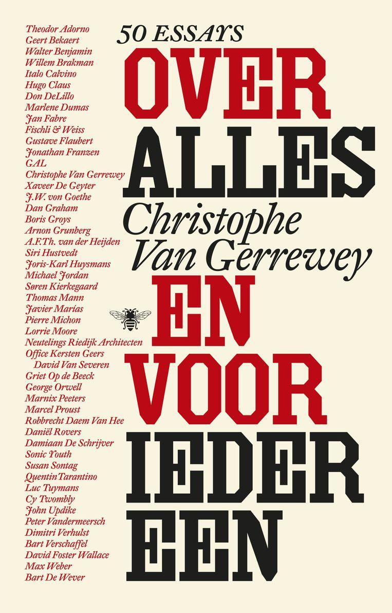 Christophe Van Gerrewey, De Bezige Bij; € 19,99. Beeld x
