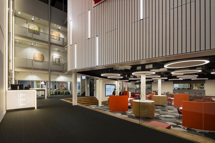 De School van de Toekomst op het Koning Willem I College. Het Bossche regionaal opleidings centrum heeft volgens de Keuzegids MBO 2020 vijftien topopleidingen in huis.