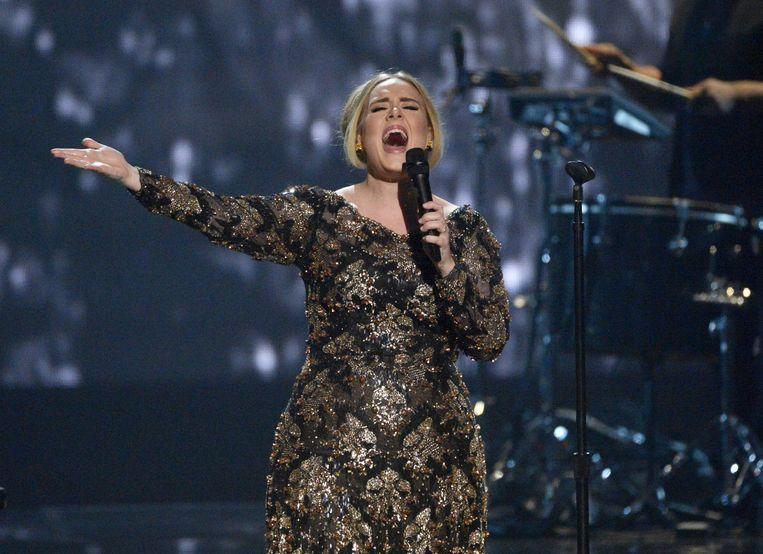 Adele. Beeld ap