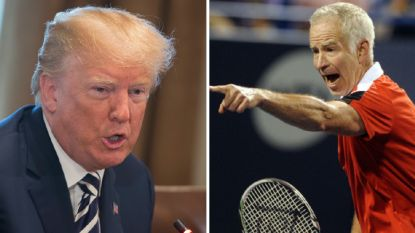De enveloppe van één miljoen dollar waarmee Donald Trump de tenniswereld op z'n kop wilde zetten