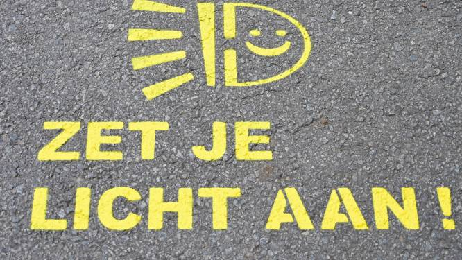 Donkere maanden op komst: politie controleert op fietsverlichting