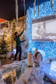 Tuincentrum Coppelmans in Oirschot kleedt kerstshow aan met recycleplastic