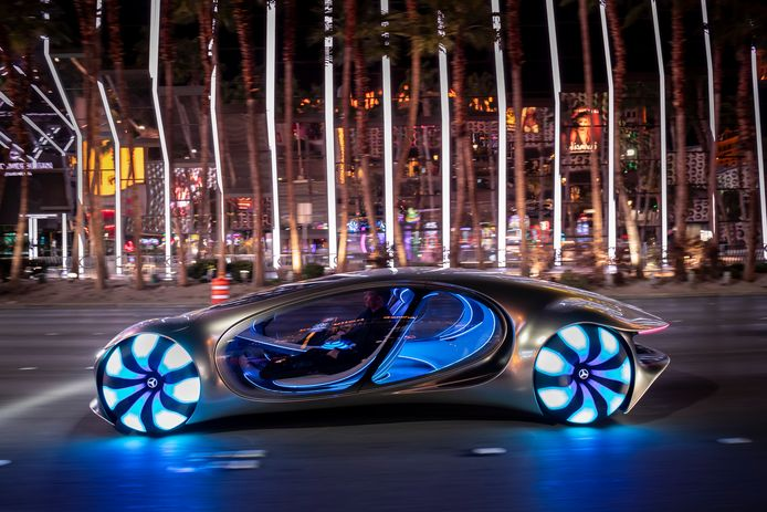 Mercedes-Benz conceptcar Vision AVTR