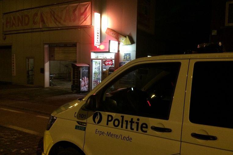 De politie kwam met verschillende ploegen ter plaatse.