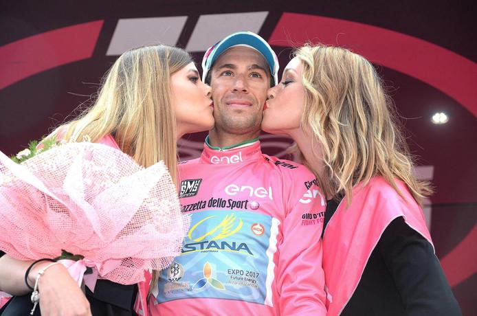 Vincenzo Nibali, de Giro-winnaar van dit jaar.