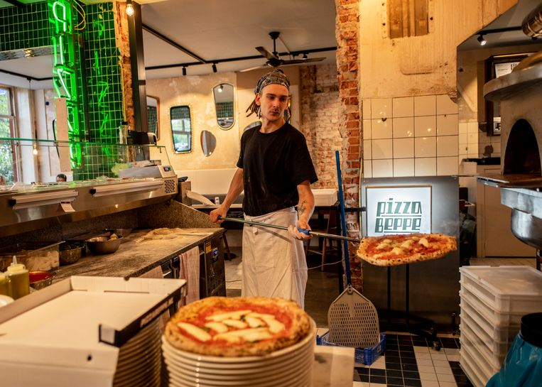 Pizza Beppe. Beeld Lin Woldendorp