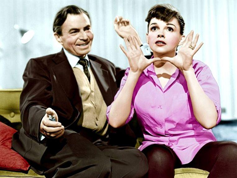 Judy Garland en James Mason in A Star is Born (George Cukor, 1954). Beeld
