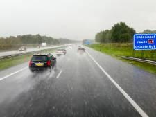A1 bij Borne staat blank: verkeer ondervindt hinder