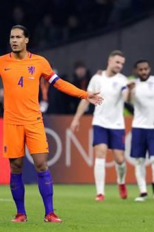 Captain Van Dijk wil aanvallende verbetering zien van Oranje