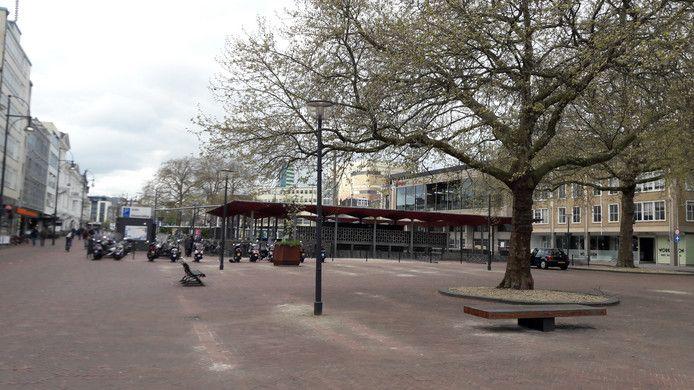 Het Gele Rijdersplein in Arnhem.