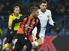 Roma komt bij Sjachtar goed weg met kleine nederlaag