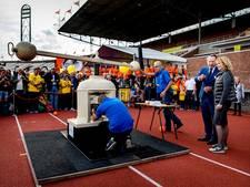 Eerste Johan Cruijff Vijfje geslagen in Olympisch Stadion