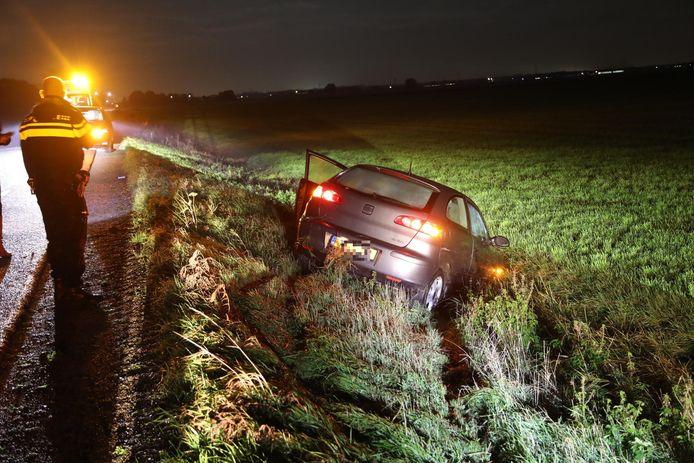Ongeval op de Gewandeweg in Lithooijen