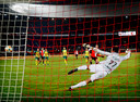 Feyenoord was vorig seizoen in de kwartfinale met 4-1 te sterk voor Fortuna Sittard. Robin van Persie scoorde in de Kuip twee keer.