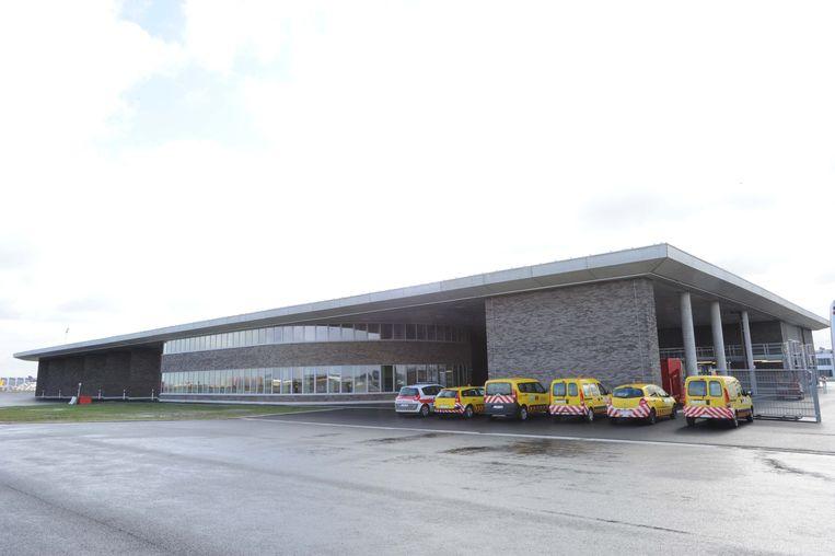 De nieuwe brandweerkazerne op Brussels Airport is energiezuinig.