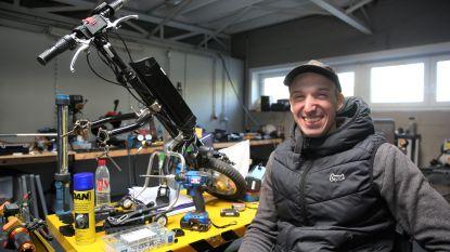 """Verlamde Jimmy bouwt betaalbare hulpmiddelen voor rolstoelpatiënten: """"Ik geef lotgenoten hun vrijheid terug"""""""