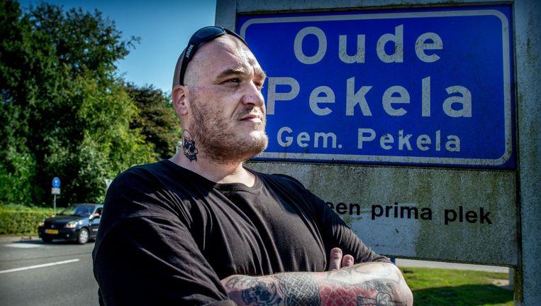 Paul Röbbecke, initiatiefnemer van de burgerwacht in Oude Pekela. Beeld Corné Sparidaen