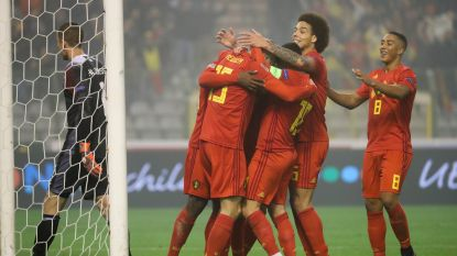 LIVE. Martínez haalt Eden Hazard en Mertens naar de kant en gooit Januzaj en Vanaken in de strijd
