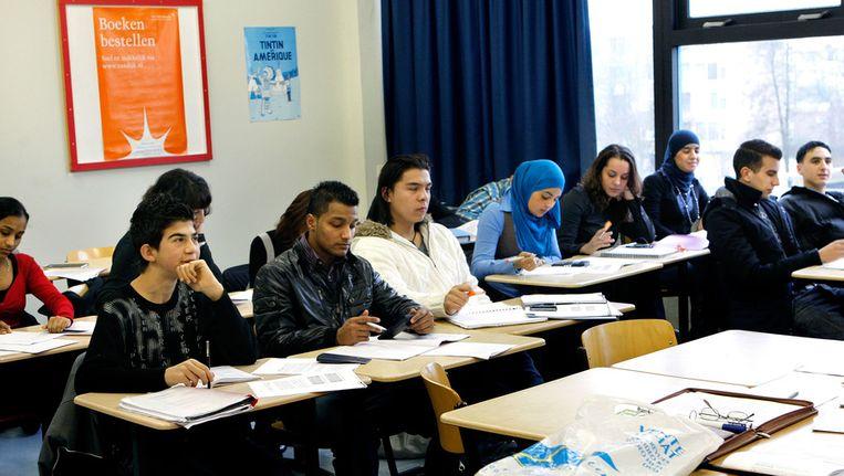 Leerlingen van een ROC-school. Beeld ANP