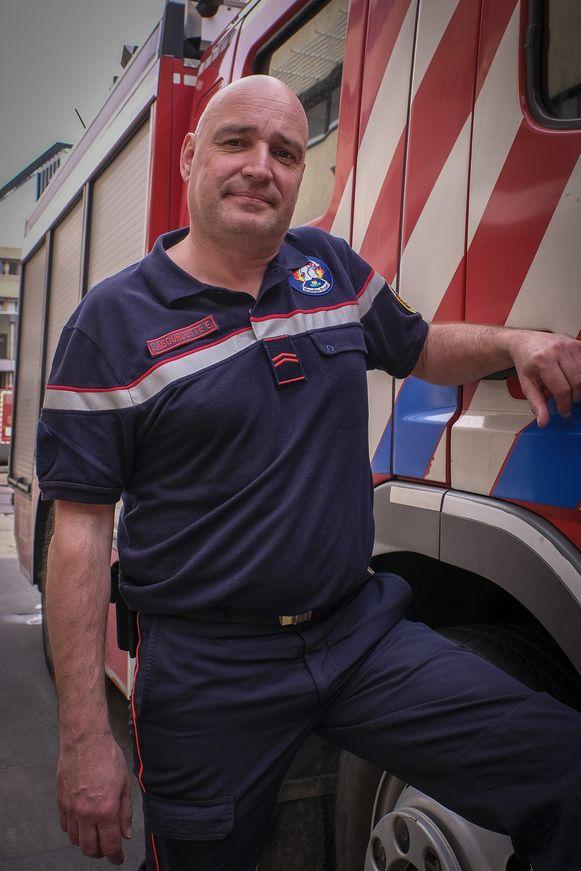 Brandweer- en vakbondsman Erik Labourdette (VSOA)