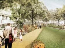 Startsein eerste fase Singelpark Oldenzaal achter Vijfhoek; Action begin september open