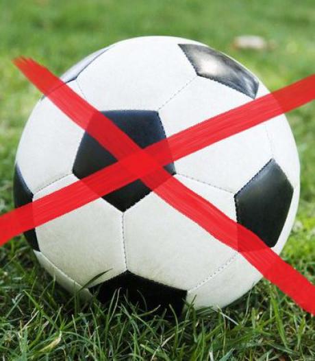Afgelastingen in Zeeuwse amateurvoetbal voor zondag 16 februari