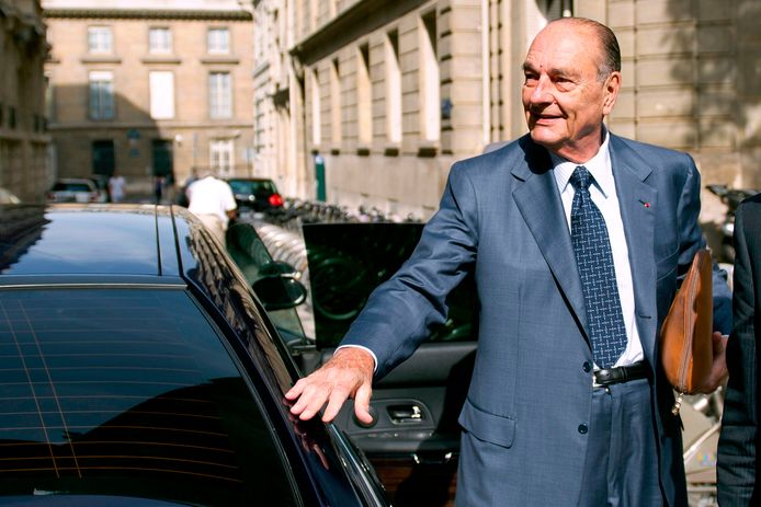 Jacques Chirac in 2011 in Parijs