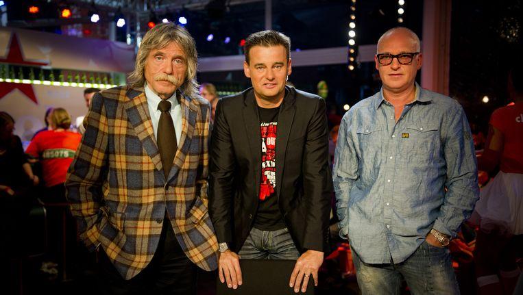 Johan Derksen, Wilfred Genee, en René van der Gijp Beeld anp